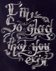 The Weakerthans // Kris Sanchez #calligraphy #type #lettering