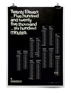A Minute of Perfection, Mash Creative #poster #typography