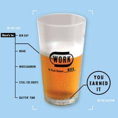 WORK Beer #beer