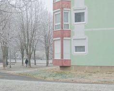 Marietta Varga Captures Stunning Minimalist Photos of Siófok, Hungary