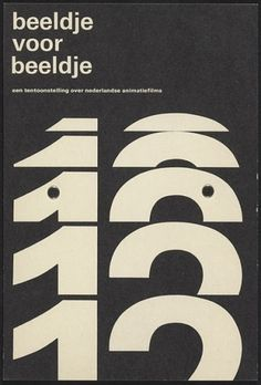 Flyer Design Goodness - A flyer and poster design blog: Wim Crouwel - selected graphic designs and prints from museum archive #typography #p