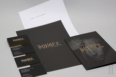 Hunger Stationery #business #card #print #head #letter #stationery #brochure