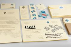deichmanske #branding #design #graphic #identity #stationery