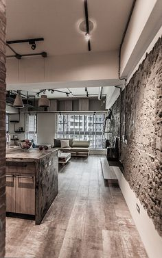 PC House – Industrial Interior Design
