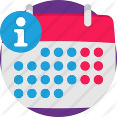 See more icon inspiration related to time and date, files and folders, commerce and shopping, customer service, signaling, help, information, info, calendar, file, signs and computer on Flaticon.