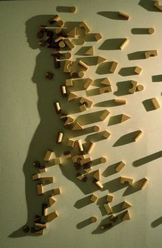 FFFFOUND! | fqG1I.jpg (750×1147) #man #shadow #formation #walk