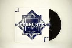 Deerhunter - Halcyon Digest Album Packaging on the Behance Network #abstract #album #deerhunter #memories #packaging #vinyl #purple #dreams #music
