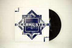 Deerhunter - Halcyon Digest Album Packaging on the Behance Network #abstract #album #deerhunter #memories #packaging #vinyl #purple #dreams #music