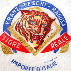 The animals on fruits' tissue paper | Italian Ways #illustration #tiger