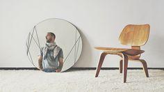 Auto portrait 2014 by Fabrice Vrigny Designer - Casablanca #chair #auto #furniture #portrait #eames