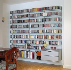 Modular shelving system for home, office, library shelving and retail