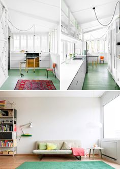green floors and carpets #interior design #decoration #decor #deco