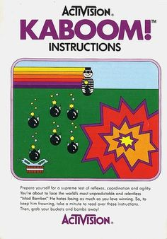 Atari - Kaboom | Flickr - Photo Sharing!