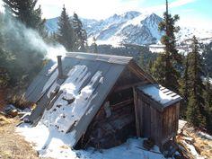 cabin porn 01.jpg #architecture #mountain #snow #forest #cabin #cottage