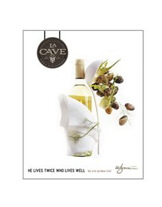 LA CAVE Ads #branding #design #food #clean #advertising #wine #simple #lasvegas #photography #whyworkshop