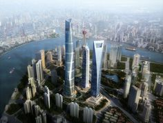 Record-Breaking 53 Skyscrapers Built in Asia in 2013 #asia #architecture #skyscrapers