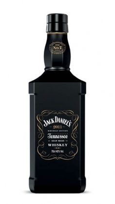 Tiffany Denise : whiskeysoaked: Jack Daniel's Birthday Edition #whiskey #edition #bottle #alcohol #black #label #daniels #jack #birthday
