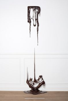 The Melting Wooden Frames of Rémy Clémente and Morgan Maccar | Hi Fructose Magazine #wood #carving #drip #melting