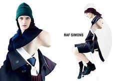 Raf-Simons-Ad.jpg 600×410 pixels #making #design #graphic #simons #image #photography #raf