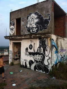 Walls 3 on Behance #art #graffiti #street art
