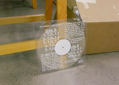 ⚐ : Photo #cd cover #transparent #typography #white