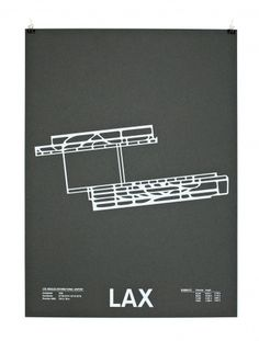Airport Runway Screenprints #poster