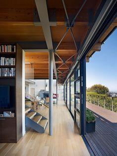 Modern Hillside Home 19