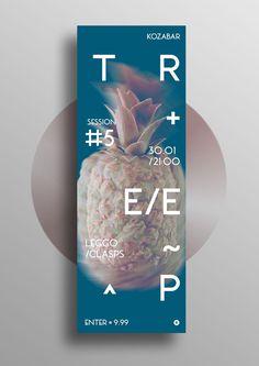 T R E E P #5 #leggo #poster #pineapple #music #fruits
