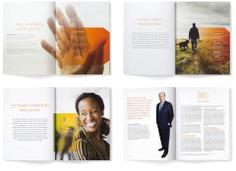 VOYA 2014 Annual Report, interior spreads