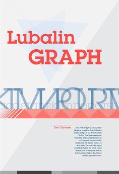 Lubalin Graph Poster