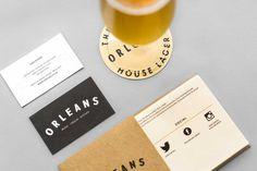Orleans Branding #branding #restaurant