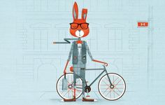 Illustration // Work // Foundry Co #illustration #rabbit