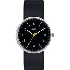 Braun BN0021BKBKG Mens All Black Quartz Watch #braun #watch