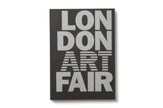 London Art Fair #cover #silver #editorial