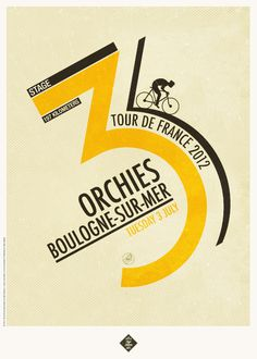Tour de France 2012 Prints on Behance #france #bike