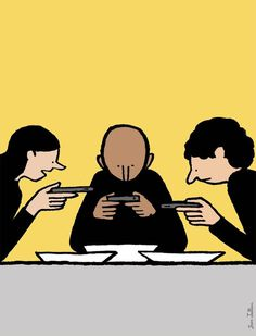 Satirical Illustrations by Jean Jullien