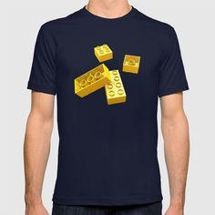 Duplo Yellow T-shirt at Søciety6 #duplo #lego #tshirt #rickardarvius #society6 #artprint #ilovelego