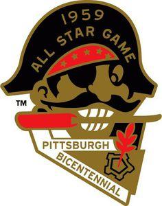 MLB All-Star Game Logo - Chris Creamer's Sports Logos Page - SportsLogos.Net #mlb #1959 #all #pittsburgh #star #baseball #pirates #game