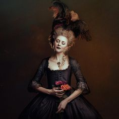 Marvelous Fine Art Portrait Photography by Bella Kotak