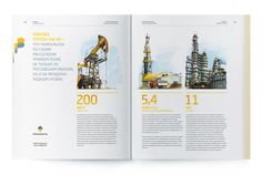 Rosneft, annual report 2012 on Behance #layout #report #annual report