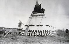 Blackfoot Tipi #nature #native #tipi