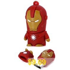 32GB #Iron #Man #USB #2.0 #Flash #Disk #Stick #/ #Flash #Memory #Drive #- #DUN