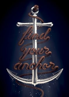 Find Your Anchor Art Print by David McLeod | Society6 #mcleood #anchor #david