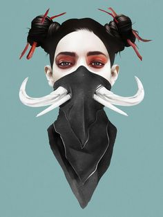 Last Dance by Ruben Ireland #illustration #concept #print #art