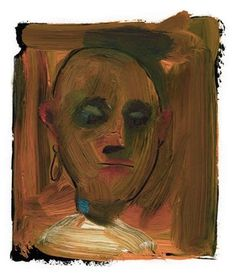 umba #small #illustration #portrait #painting #oil