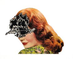 Lady Belimawr, collage, 2010 #art #collage #vintage