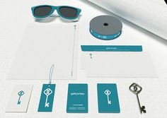 Geky's Key - Fashion Brand and Clothing Store on Behance #clothing #stationary #design #key #fashion #logo