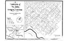 Vintage Covington, LA map #branding #map #restaurant #identity #oxlot