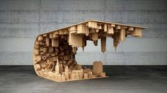 Awesome city landscape art created by Cyprus-based designer Stelios Mousarris