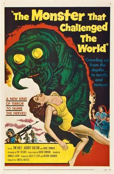 monster_that_challenged_the_world_poster_01 565x860 #movie #retro #poster